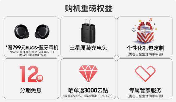 三星Galaxy A52 5G苏宁开售 限时赠Buds+耳机